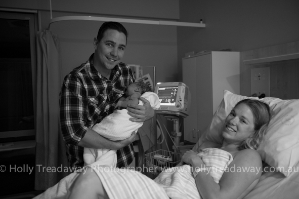 Steph & Terry welcome baby Samuel