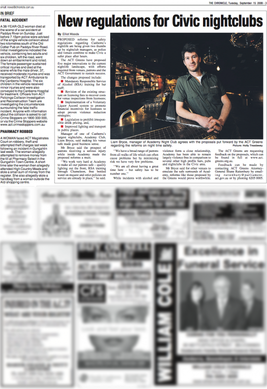The (Canberra) Chronicle