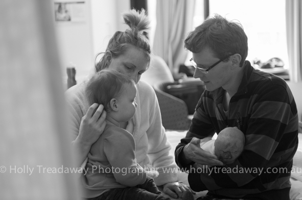 Lucinda & Tim welcome baby Freya